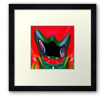 Batman in the mirror Framed Print