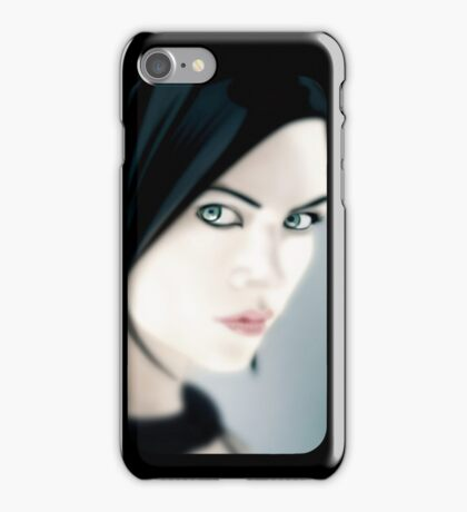Charlize Theron as Aeon Flux [iPhone / iPod case / Print] iPhone Case/Skin