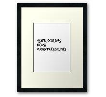 #thatsokayIdidntneedmyheartanyway Framed Print