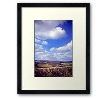 Yorkshire Clouds Framed Print