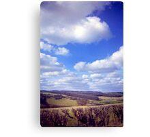 Yorkshire Clouds Canvas Print