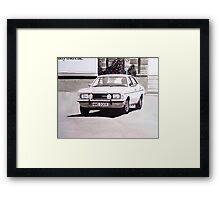 'The Sweeney' Ford Cortina Mk.3 2000GL Framed Print