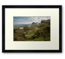 Quiraing- Lone Tree Framed Print