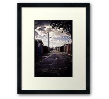 Alleyway #1 Framed Print