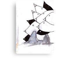 pod birds #02 Canvas Print