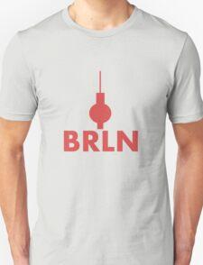 Berlin - BRLN - T-Shirt/Sticker (Red) T-Shirt