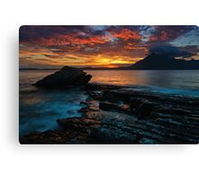 The Fires of Elgol Canvas Print