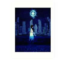 Tarot XVII The Star Art Print
