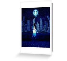 Tarot XVII The Star Greeting Card