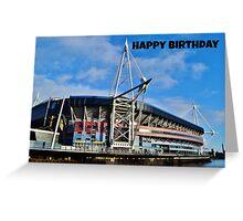 Millennium Stadium, Cardiff - Birthday Card Greeting Card