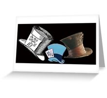 Mad Hatter - All the hats Greeting Card