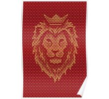 Lion Crown Poster