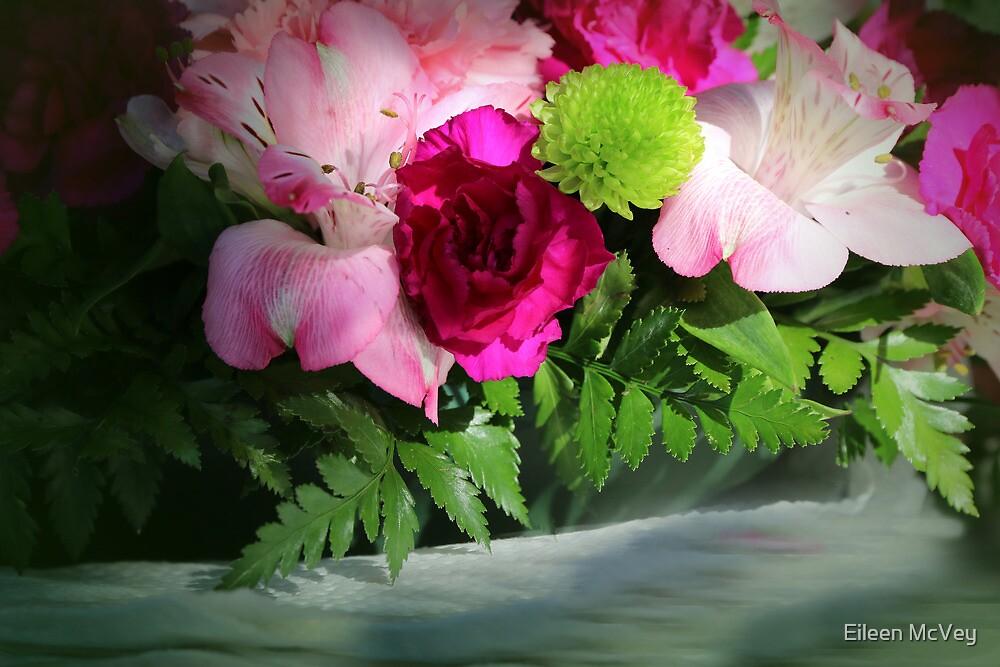 Pink Flower Challenge by Eileen McVey
