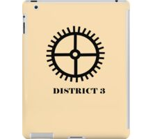 The Hunger Games - District 3 iPad Case/Skin