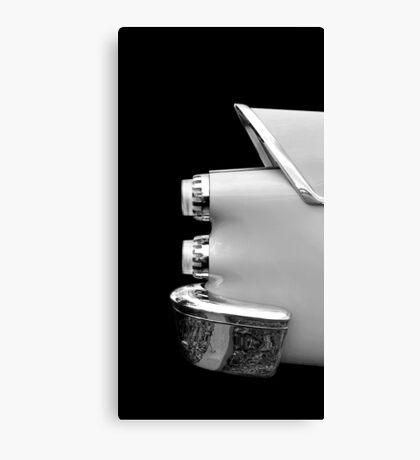 One Rear (black&white) Canvas Print