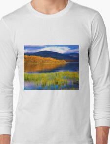 Fall at Kilpisjärvi, Lapland, Finland Long Sleeve T-Shirt