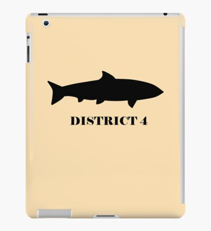 The Hunger Games - District 4 iPad Case/Skin