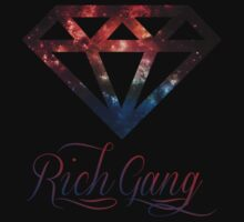 Rich Gang Diamond Tee by shanin666