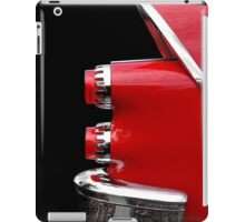 One Rear (red) iPad Case/Skin