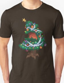 Christmas Tree Monster Unisex T-Shirt