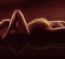 A SENSUAL REFLECTION by Rob  Toombs