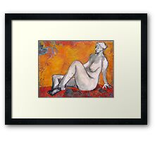 You're Welcome Framed Print