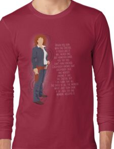 River Song Quote Long Sleeve T-Shirt