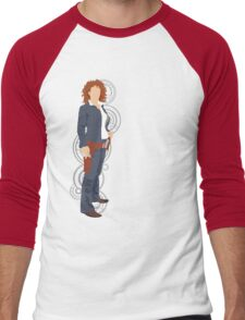River Song Quote Men's Baseball ¾ T-Shirt