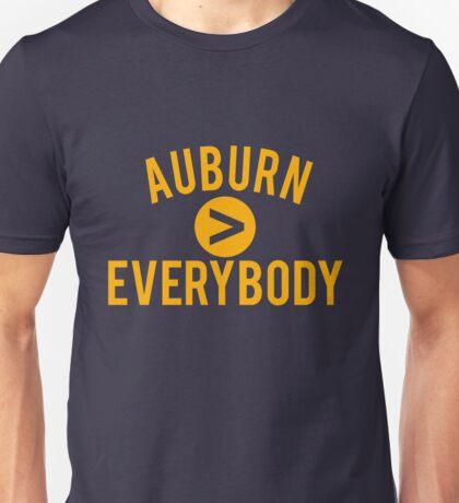 Auburn > Everybody Unisex T-Shirt