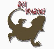 GOT DRAGON? by Tony  Bazidlo
