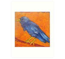 King Crow Art Print