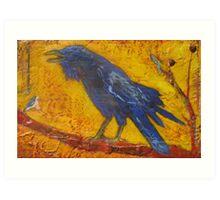 Big Bird Little Bird Art Print