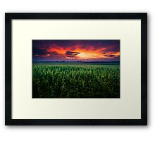 This is Not the End Framed Print