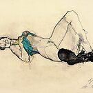 Hommage à Schiele II by Ute Rathmann