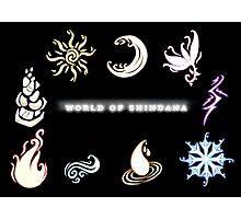 Element Symbols (World of Shindana) Photographic Print
