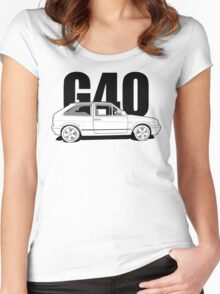 Polo G40 - Side Women's Fitted Scoop T-Shirt