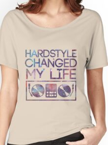 HARDSTYLE TEE Women's Relaxed Fit T-Shirt