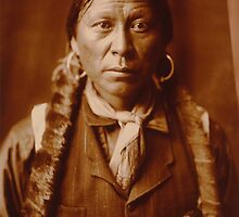 A Jicarilla Man, 1904 by TilenHrovatic