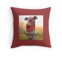 Phtunning throw pillow Throw Pillow