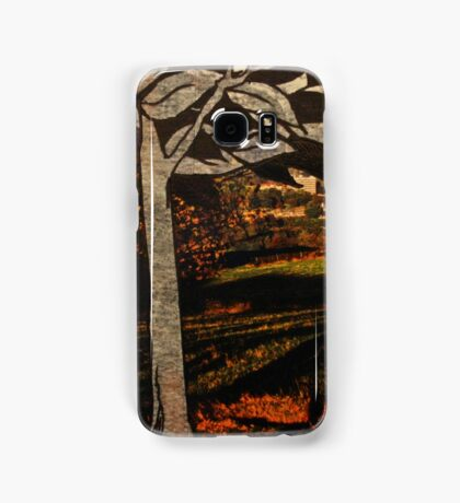 paper trees & pod birds  Samsung Galaxy Case/Skin
