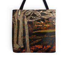 paper trees & pod birds  Tote Bag