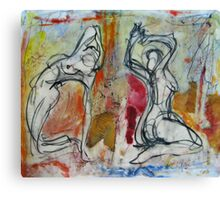 Saturday Morning Ladies Canvas Print