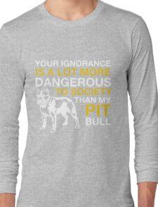 MY PIT BULL Long Sleeve T-Shirt
