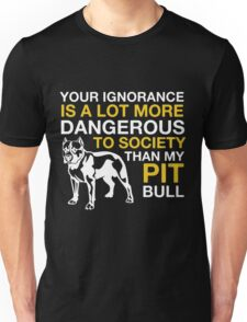 MY PIT BULL Unisex T-Shirt