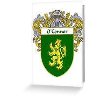O'Connor Coat of Arms/Family Crest Greeting Card