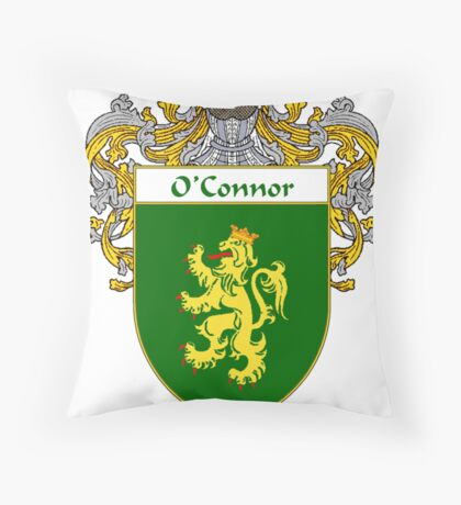 O'Connor Coat of Arms/Family Crest Throw Pillow