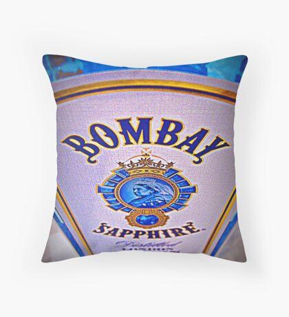 Bombay Sapphire Throw Pillow