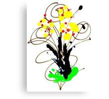 Flowers- Unique Art Canvas Print