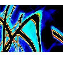 Blue Tide- Unique Abstract Art Photographic Print
