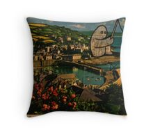 fishing gumbo Throw Pillow